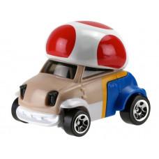 "Машинка Hot Wheels Caracter Гейминг Super Mario ""Toad"", GJJ23_5"