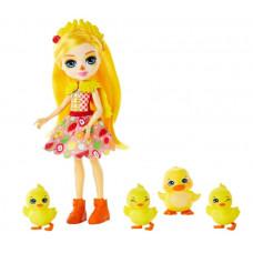 Игровой набор с куклой Enchantimals Дайна Утя и Слош, Корн, Баттер, Банана, GJX43_GJX45
