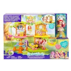 Игровой набор с куклой Enchantimals Джунгли-кафе, GNC57