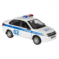 Легковой автомобиль Welly LADA Granta Полиция (43657PB) 1:34
