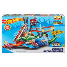Трек Hot Wheels City Ultimate Gator Car Wash FTB67