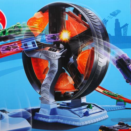 Hot Wheels игровой трек Круговое противостояние, GJM77