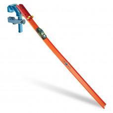 Игрушечный трек Hot Wheels Конструктор Трасс Крутой поворот, оранжевый, голубой, желтый, черный, GLC92_87