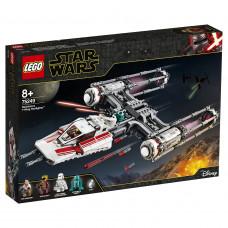 Конструктор LEGO Star Wars Звездный истребитель повстанцев типа Y, 75249