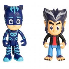 Набор игровой PJ masks 2 фигурки Кэтбой и Хоулер 35558