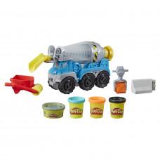 Набор для лепки Play-Doh Wheels Бетономешалка E68915L0