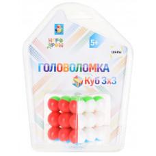 "Головоломка 1TOY ""Куб 3 х 3"", Т14209"