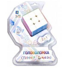 "Головоломка-спиннер 1TOY ""Куб 3 х 3"", Т14214"