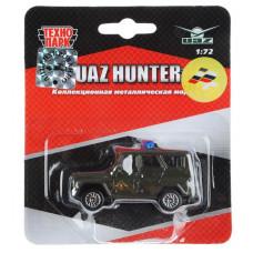 ТехноПарк Автомобиль UAZ Hunter цвет болотный  X600-H09012-R