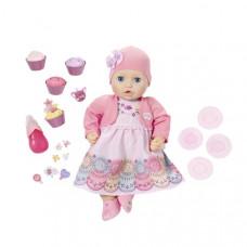 Бэби Аннабель Кукла многофункциональная Праздничная, 43 см Zapf Creation Baby Annabell 700-600