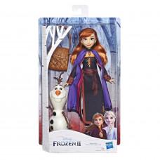 Кукла Disney Frozen Холодное сердце 2 Anna с аксессуарами