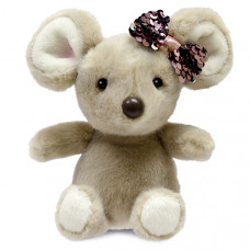 Мягкая игрушка Aurora Мышка 18 см