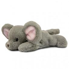 Мягкая игрушка Aurora Мышонок лежащий 25 см