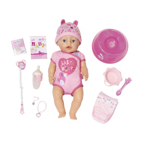 Интерактивная кукла Zapf Creation Baby Born 43 см 825-938