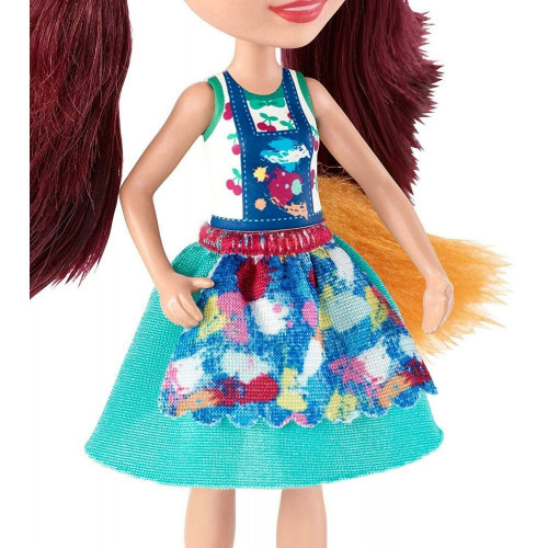 Набор с куклой Enchantimals Художественная студия Фелисити Лис, 15 см, GBX03