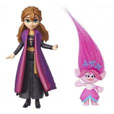 Комплект фигурок Frozen Холодное сердце 2 Анна и Trolls Розочка, frozen_trolls_1