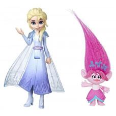 Комплект фигурок Frozen Холодное сердце 2 Эльза и Trolls Розочка, frozen_trolls_2