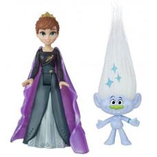 Комплект фигурок Frozen Холодное сердце 2 принцесса Анна и Trolls Алмаз, frozen_trolls_6