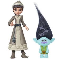 Комплект фигурок Frozen Холодное сердце 2 Ханимарен и Trolls Цветан, frozen_trolls_8