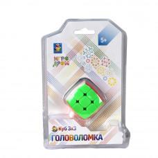 "1toy Головоломка ""Куб 3х3"" 3,5 см, блистер 12,5Х19 см Т14204"