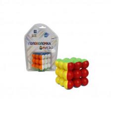 """Головоломка """"Куб 3х3, Шары"""", 5 см 1 Toy, Т14209"""