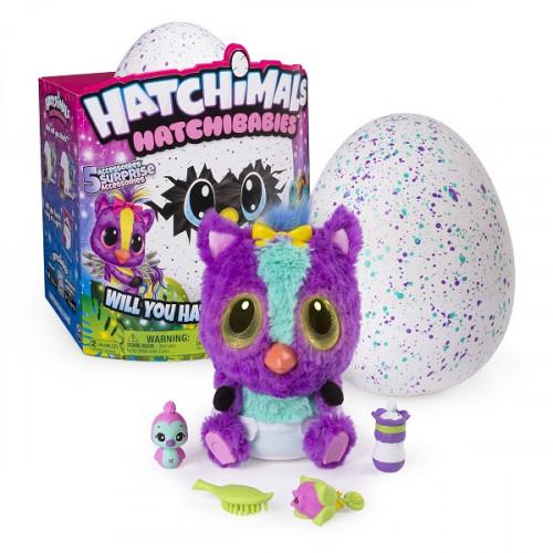 Интерактивная мягкая игрушка Hatchimals Hatchibabies Ponette 19133-PON