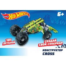 "Hot Wheels Конструктор ""Cross"" (101 деталь)"