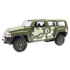 Внедорожник Welly Hummer H3 военная (43629CM) 1:34