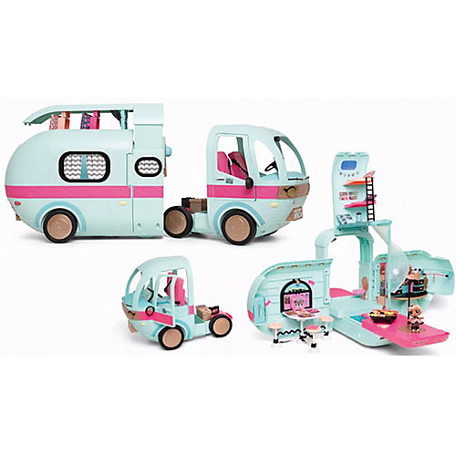 Игровой набор MGA Entertainment LOL Автобус