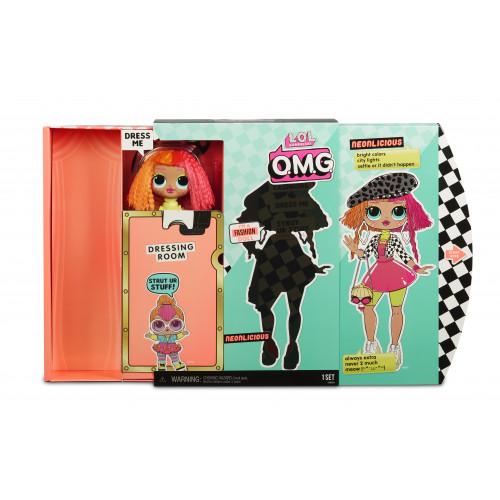 Кукла-сюрприз MGA Entertainment LOL Surprise OMG Fashion Neonlicious, 560579