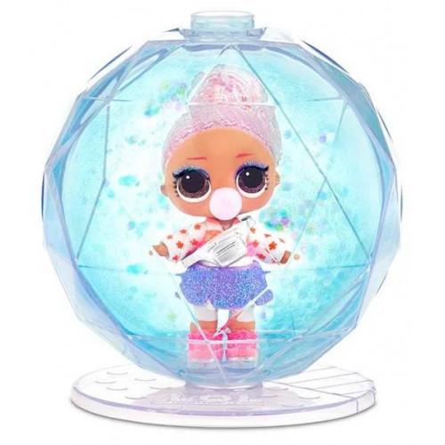 Кукла-сюрприз MGA Entertainment в шаре LOL Surprise Winter Disco Glitter Globe, 8 см, 561606, в ассортименте