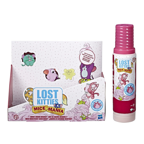Игровой набор Hasbro Lost Kitties Mice Mania E7625