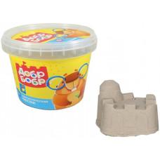 """Масса для лепки 1TOY """"Фантастический песок: Добр бобр"""", 0,5 кг T10256"""