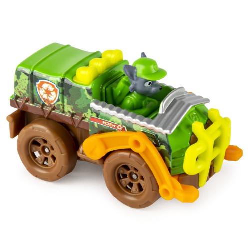 Машинка Щенячий патруль Paw Patrol Тру металл Дайкаст Jungle Рокки 6053257_rocky_2