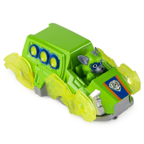 Машинка Щенячий патруль Paw Patrol Тру металл Дайкаст Super Charge Рокки 6053257_rocky_1