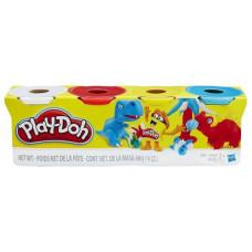 Масса для лепки Play-Doh Набор 4 банки 448 г (B6508)