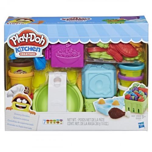 Масса для лепки Play-Doh Готовим обед (E1936)