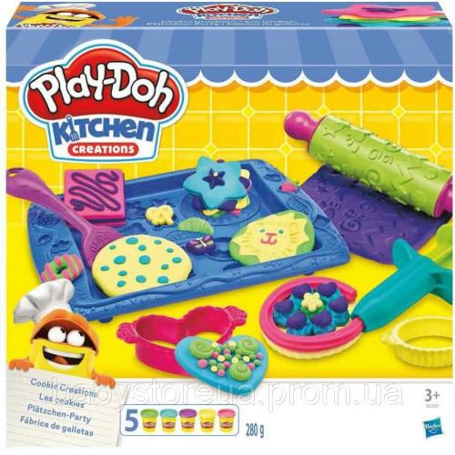 Игровой набор для лепки PLAY-DOH Магазинчик печенья, B0307EU8