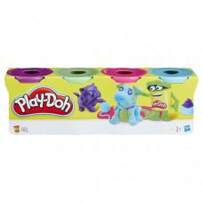 Масса для лепки Play-Doh Набор 4 банки, B5517EU4