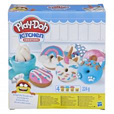 Набор для лепки Play-Doh Kitchen Creations Выпечка и пончики E3344EU4