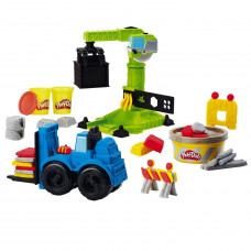 Набор для лепки Play-Doh Wheels Кран-погрузчик E5400EU4
