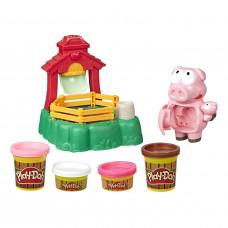 Набор для лепки Play-Doh Озорные поросята E67235L0