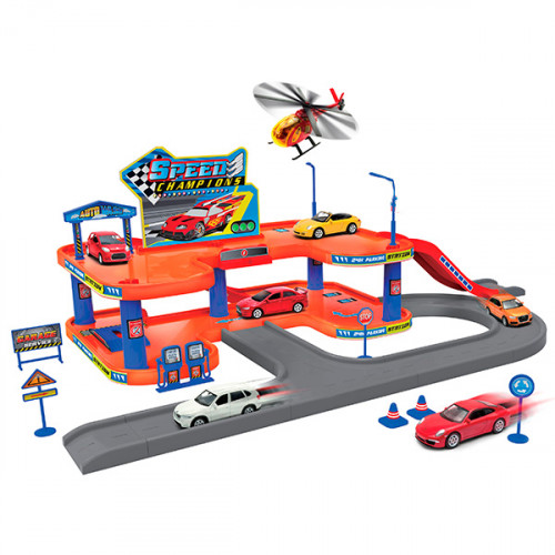 Welly Гараж Playset, 96040