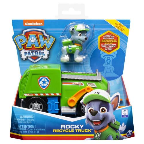 Машинка Щенячий патруль Paw Patrol Тру металл Дайкаст Core Рокки 6053257_rocky