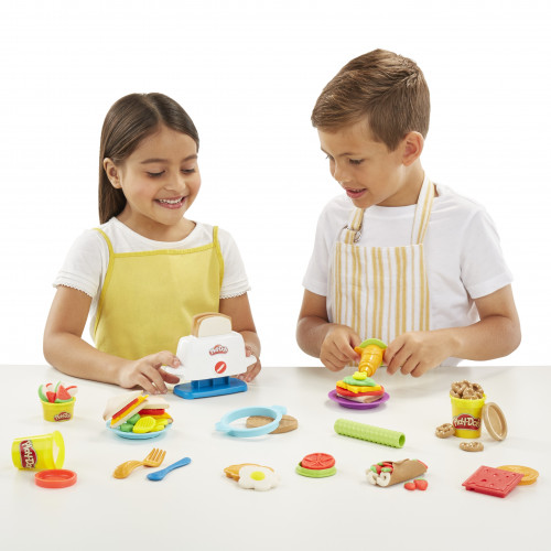Набор для лепки Play-Doh Kitchen Creations Тостер E0039